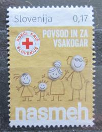 Poštovní známka Slovinsko 2018 Hasièi Mi# N/N