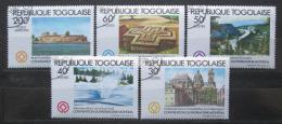 Poštovní známky Togo 1981 Dìdictví UNESCO Mi# 1571-74,1576