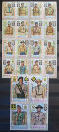 Poštovní známky Manáma 1971 Skauti TOP SET Mi# 465-84