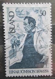 Poštovní známka Island 1975 Einar Jónsson, sochaø Mi# 508
