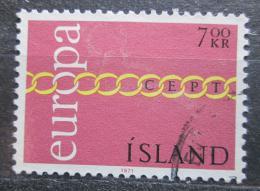 Poštovní známka Island 1971 Evropa CEPT Mi# 451