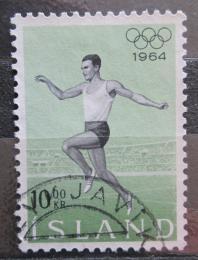 Poštovní známka Island 1964 LOH Tokio Mi# 387