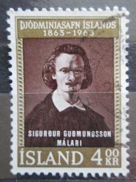 Poštovní známka Island 1963 Sigurdur Gudmundsson Mi# 368