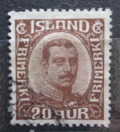 Poštovní známka Island 1932 Král Kristián X Mi# 161