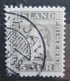 Poštovní známka Island 1935 Matthías Jochumsson, básník Mi# 184