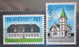 Poštovní známky Island 1978 Evropa CEPT, architektura Mi# 530-31