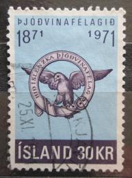 Poštovní známka Island 1971 Spoleènost patriotù Mi# 455