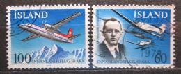 Poštovní známky Island 1978 Domací lety Mi# 532-33