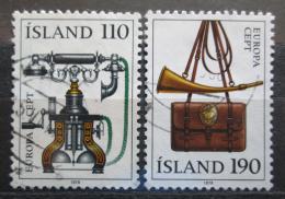 Poštovní známky Island 1979 Evropa CEPT Mi# 539-40