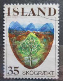 Poštovní známka Island 1975 Zalesòování Mi# 512