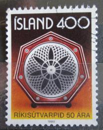 Poštovní známka Island 1980 Státní rádio Mi# 562