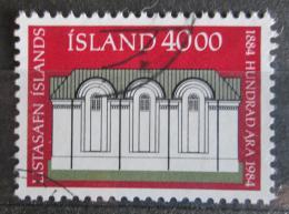 Poštovní známka Island 1984 Národní galerie Mi# 623