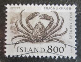 Poštovní známka Island 1985 Krab Mi# 637