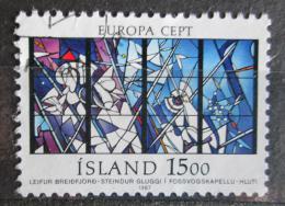 Poštovní známka Island 1987 Evropa CEPT, moderní architektura Mi# 666