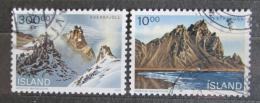Poštovní známky Island 1991 Pøírodní zajímavosti Mi# 740-41 Kat 5€