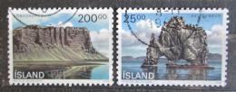 Poštovní známky Island 1990 Krajiny Mi# 731-32 Kat 4€