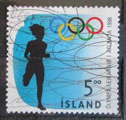 Poštovní známka Island 1996 LOH Atlanta, bìh Mi# 850