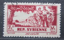 Poštovní známka Sýrie 1954 Rodina Mi# 632