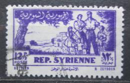 Poštovní známka Sýrie 1954 Rodina Mi# 634