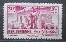 Poštovní známka Sýrie 1954 Prùmysl Mi# 635