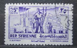 Poštovní známka Sýrie 1954 Prùmysl Mi# 636