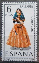 Poštovní známka Španìlsko 1967 Lidový kroj Baleáry Mi# 1691