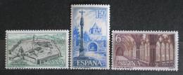 Poštovní známky Španìlsko 1967 Kláštery a opatství Mi# 1728-30