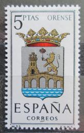 Poštovní známka Španìlsko 1964 Znak Orense Mi# 1521