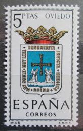 Poštovní známka Španìlsko 1964 Znak Oviedo Mi# 1524