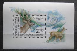 Poštovní známka Uzbekistán 1993 Jelen Mi# Block 1