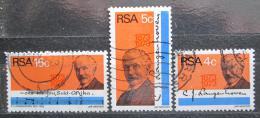 Poštovní známky JAR 1973 C. J. Langenhoven Mi# 424-26 Kat 7€