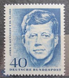 Poštovní známka Nìmecko 1964 John F. Kennedy Mi# 453