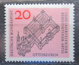 Poštovní známka Nìmecko 1964 Opatství Ottobeuren Mi# 428