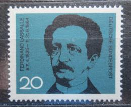 Poštovní známka Nìmecko 1964 Ferdinand Lassalle Mi# 443