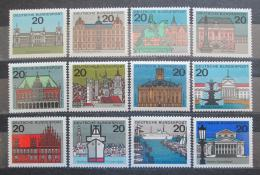 Poštovní známky Nìmecko 1964 Hlavní mìsta Mi# 416-27