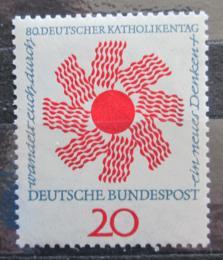 Poštovní známka Nìmecko 1964 Den katolíkù Mi# 444