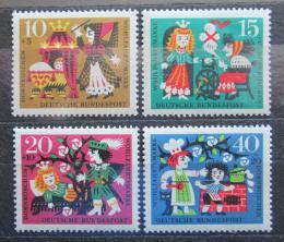 Poštovní známky Nìmecko 1964 Pohádky Mi# 447-50