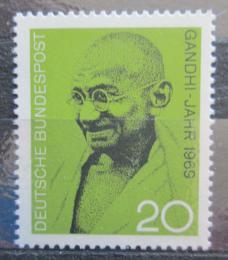Poštovní známka Nìmecko 1969 Mahatma Gandhi Mi# 608