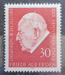 Poštovní známka Nìmecko 1969 Papež Jan XXIII. Mi# 609