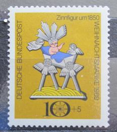 Poštovní známka Nìmecko 1969 Vánoce Mi# 610