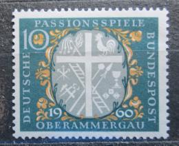 Poštovní známka Nìmecko 1960 Oberammergau Mi# 329