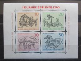 Poštovní známky Západní Berlín 1969 Berlínská ZOO Mi# Block 2