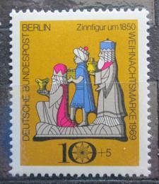 Poštovní známka Západní Berlín 1969 Vánoce Mi# 352