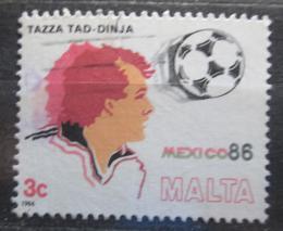 Poštovní známka Malta 1986 MS ve fotbale Mi# 748