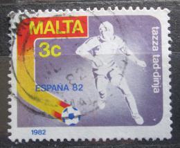 Poštovní známka Malta 1982 MS ve fotbale Mi# 663