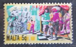 Poštovní známka Malta 1981 Umìní Mi# 640