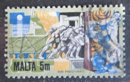 Poštovní známka Malta 1981 Megalitický prùmysl Mi# 636