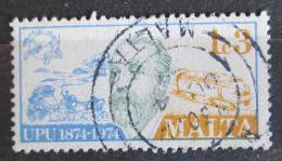 Poštovní známka Malta 1974 Heinrich von Stephan Mi# 497