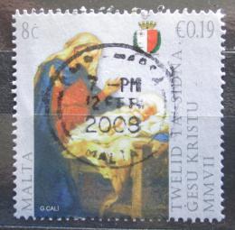 Poštovní známka Malta 2007 Vánoce, umìní, Giuseppe Calí Mi# 1547