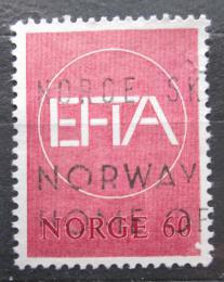 Poštovní známka Norsko 1967 Celní unie EFTA Mi# 551